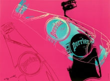 Crédit: Andy Warhol, Perrier, 1983. Montréal, Paul Maréchal Collection. © The Andy Warhol Foundation for the Visual Arts, inc./SODRAC (2014)